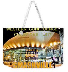 Smashville Western Conference Champions 2017 Weekender Tote Bag
