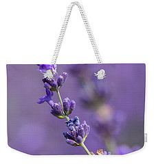 Smell The Lavender Weekender Tote Bag