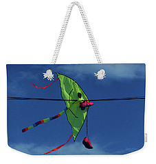 Weekender Tote Bag featuring the photograph Smile by Mark Blauhoefer