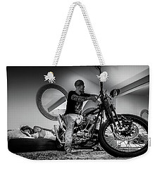 Weekender Tote Bag featuring the photograph Smile Of Approval- by JD Mims