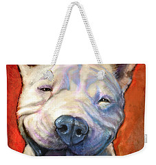 Smile Weekender Tote Bag by Sean ODaniels