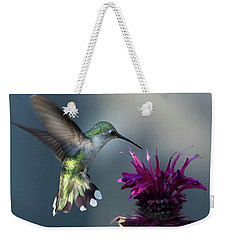 Weekender Tote Bag featuring the photograph Smiles In The Garden by Everet Regal