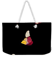 Smiley Rose Weekender Tote Bag
