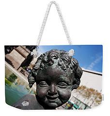 Smiling Cherub Weekender Tote Bag