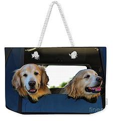 Smiling Dogs Weekender Tote Bag