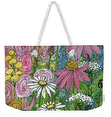Smiling Flowers Weekender Tote Bag
