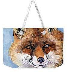 Smiling Fox Weekender Tote Bag