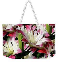 Smiling Lilies Weekender Tote Bag