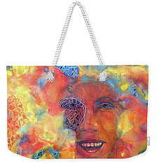 Smiling Muse No. 2 Weekender Tote Bag