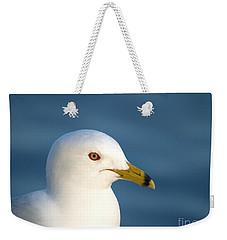 Smiling Seagull Weekender Tote Bag by Susan Dimitrakopoulos