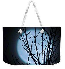 Smiling Super Moon Weekender Tote Bag