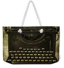 Smith And Corona Typewriter Weekender Tote Bag