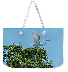 Weekender Tote Bag featuring the photograph Smith Creek by Steven Richman