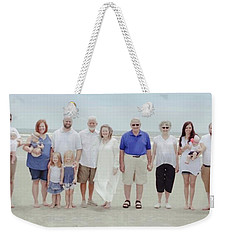 Smith Family At The Beach Weekender Tote Bag