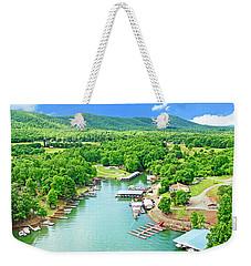Smith Mountain Lake, Virginia. Weekender Tote Bag