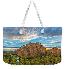 Smith Rock Weekender Tote Bag by Patricia Davidson