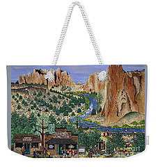 Smith Rock State Park Weekender Tote Bag
