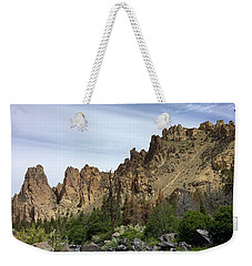 Smith Rocks Weekender Tote Bag