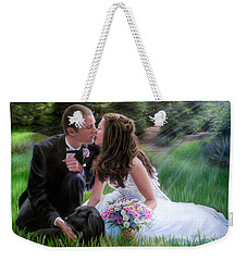 Smith Wedding Portrait Weekender Tote Bag