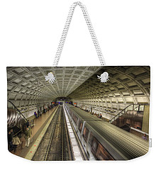 Smithsonian Metro Station Weekender Tote Bag by Shelley Neff