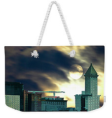 Smithtower Moon Weekender Tote Bag by Dale Stillman