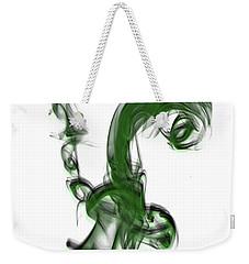Smoke 01 - Green Weekender Tote Bag