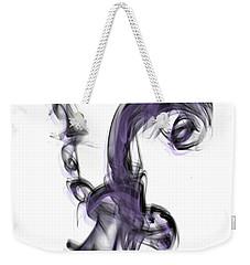 Smoke 01 Purple Weekender Tote Bag