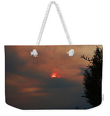 Smoke And Heat Weekender Tote Bag