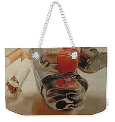 Smoke Break Weekender Tote Bag by Cherise Foster