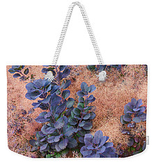 Smoke Bush Weekender Tote Bag