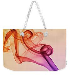 Smoke Compositions In Warm Tones Weekender Tote Bag by Jaroslaw Blaminsky