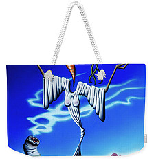 Smoke Dance Weekender Tote Bag