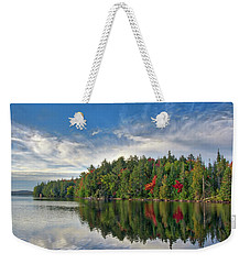 Smoke Lake Weekender Tote Bag