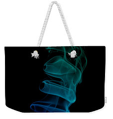 Weekender Tote Bag featuring the photograph smoke XIX ex by Joerg Lingnau