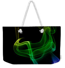 Weekender Tote Bag featuring the photograph smoke XXIV by Joerg Lingnau