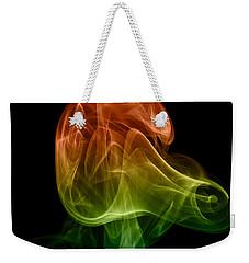 smoke XXVIII Weekender Tote Bag by Joerg Lingnau