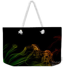 Weekender Tote Bag featuring the photograph smoke XXXI by Joerg Lingnau