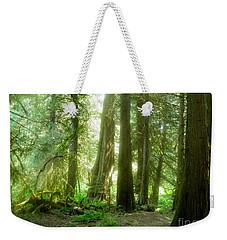 Smokey Forest Weekender Tote Bag