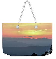Smokey Mnt Sunset Weekender Tote Bag