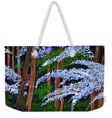 Smokey Mtn. Trail Weekender Tote Bag