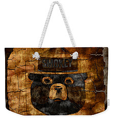 Smokey The Bear Only You Can Prevent Wild Fires Weekender Tote Bag by John Stephens