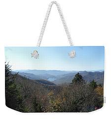 Smokies 16 Weekender Tote Bag by Val Oconnor
