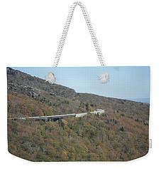 Smokies 17 Weekender Tote Bag by Val Oconnor