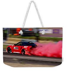 Smoking Red 2 Weekender Tote Bag