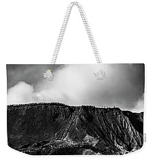 Weekender Tote Bag featuring the photograph Smoking Volcano by Pradeep Raja Prints