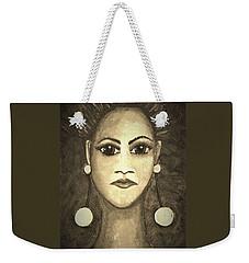 Smoking Woman 1 Weekender Tote Bag