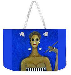 Smoking Woman 2 Weekender Tote Bag
