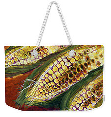 Smoky Maize Weekender Tote Bag