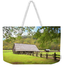 Smoky Mountain Barn Weekender Tote Bag
