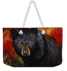 Smoky Mountain Black Bear  Weekender Tote Bag